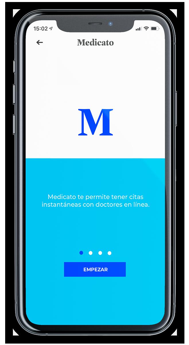 Consulta con doctores en Medicato